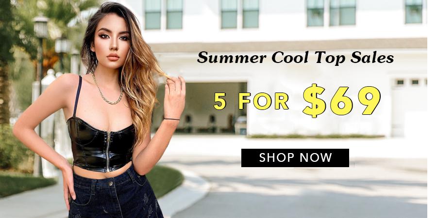 Summer Cool Top Sales