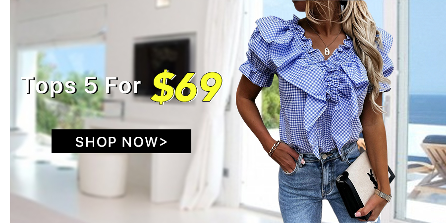 Tops 5 For $69