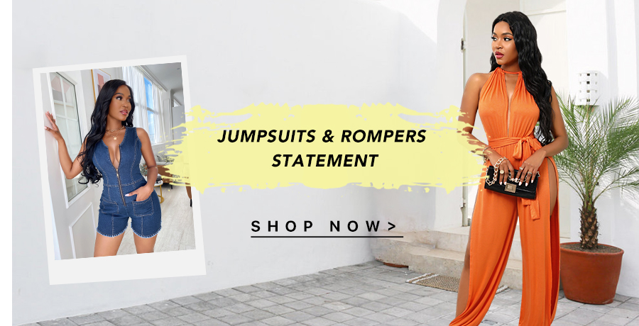 JUMPSUITS & ROMPERS Statement