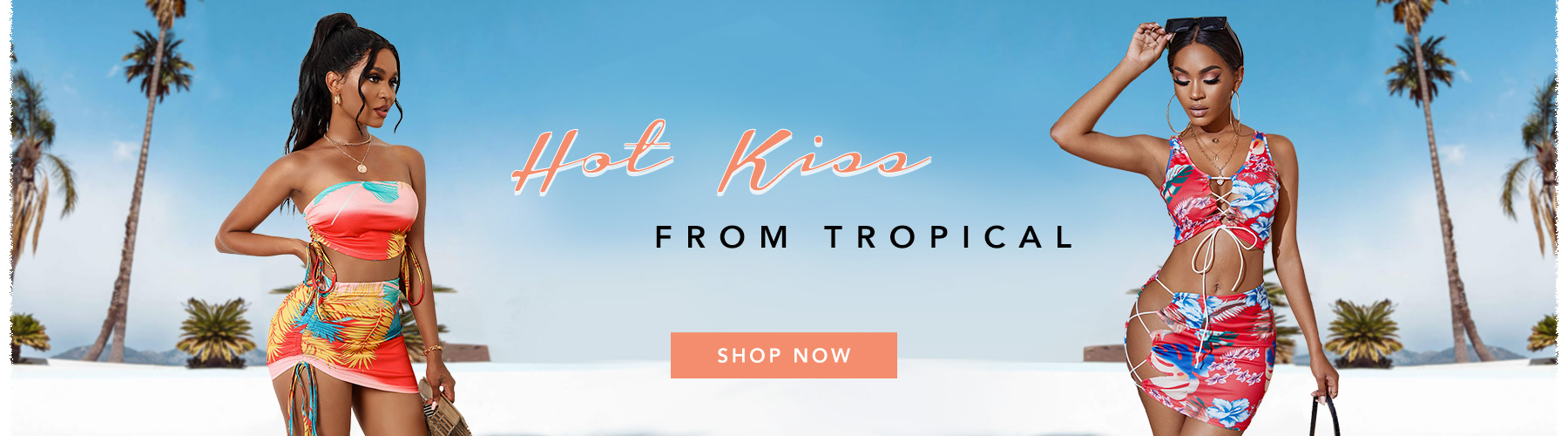 Hot Kiss From Tropical