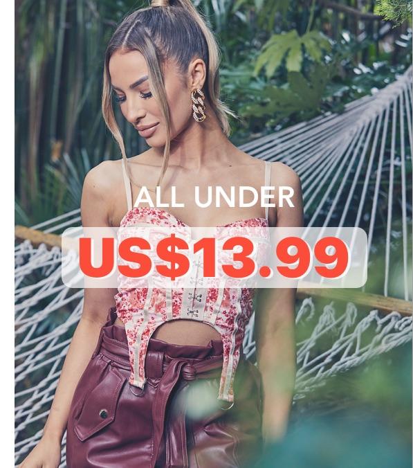 All UnderUS$13.99