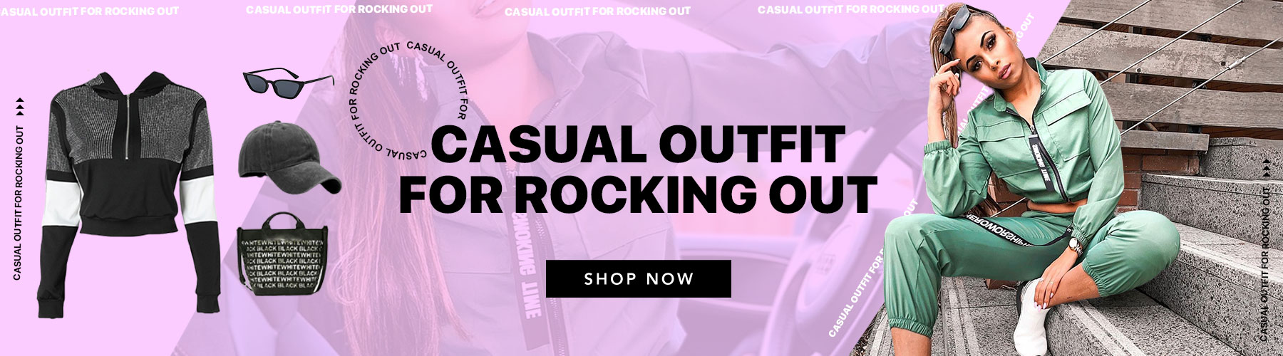 Casual Outfit For Rocking Out