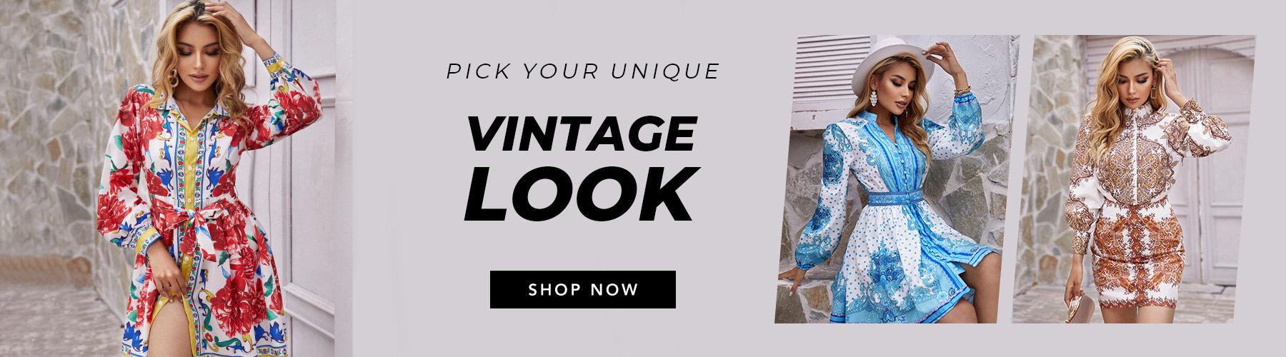 Pick your unique vintage look
