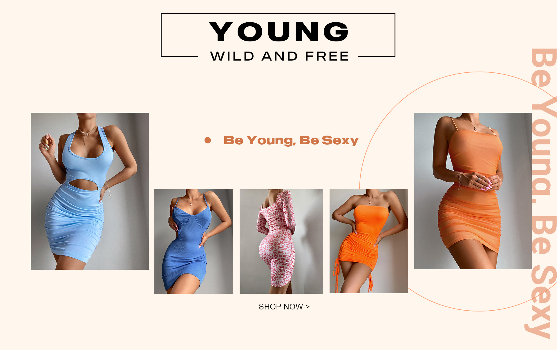 Be Young,Be Sexy