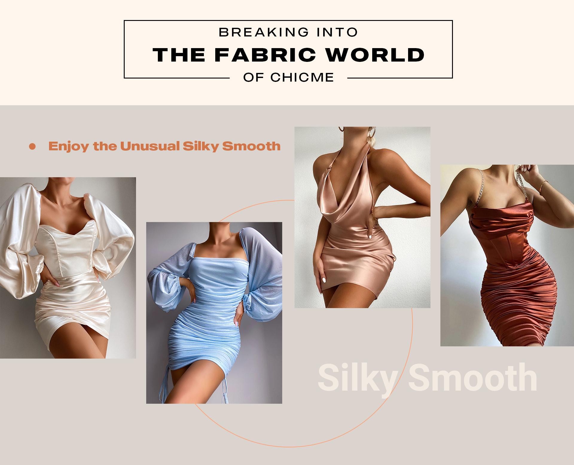 Enjoy the unusual silky smooth