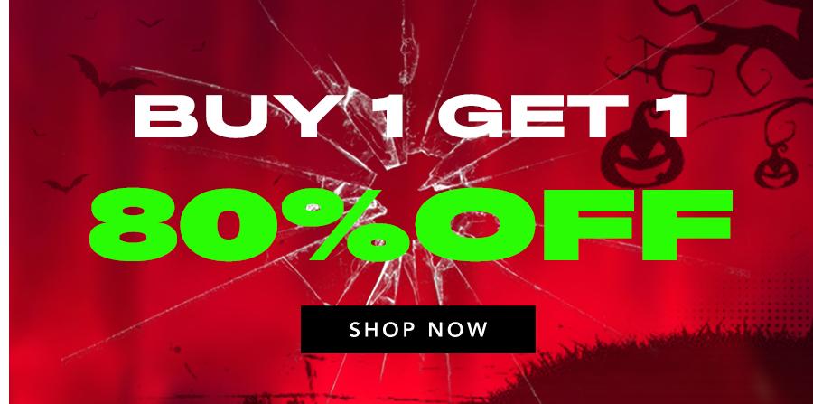 Buy 1 Get 1 80%OFF
