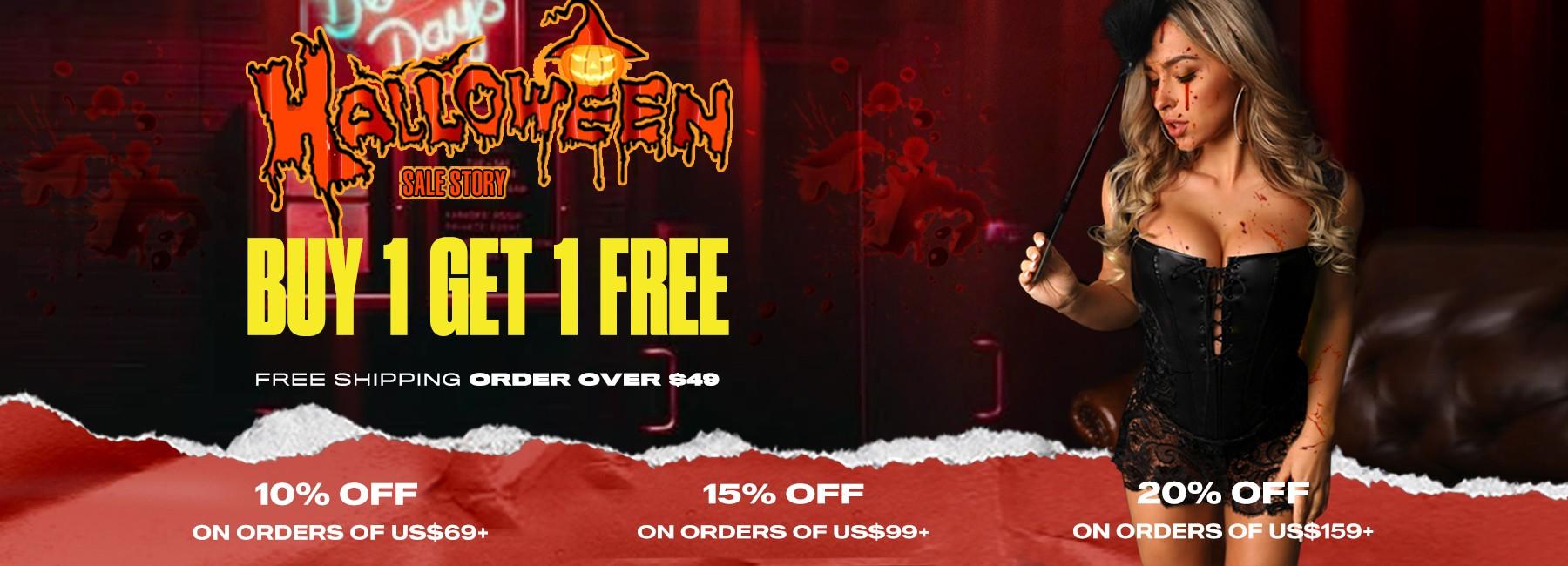 Halloween Buy 1 Get 1 Free
