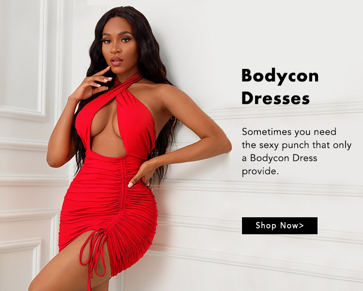 Bold Take on Bodycon dress