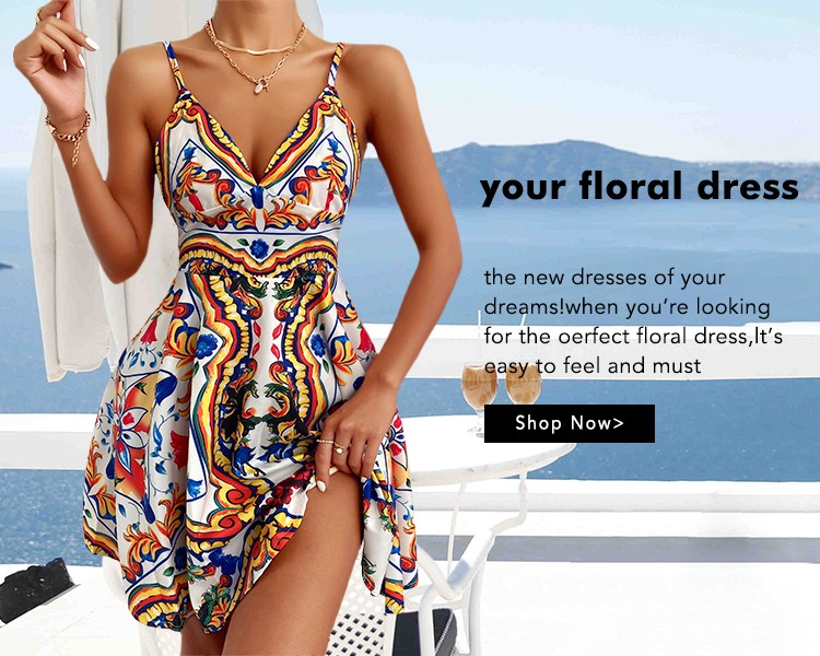 Your floral dress