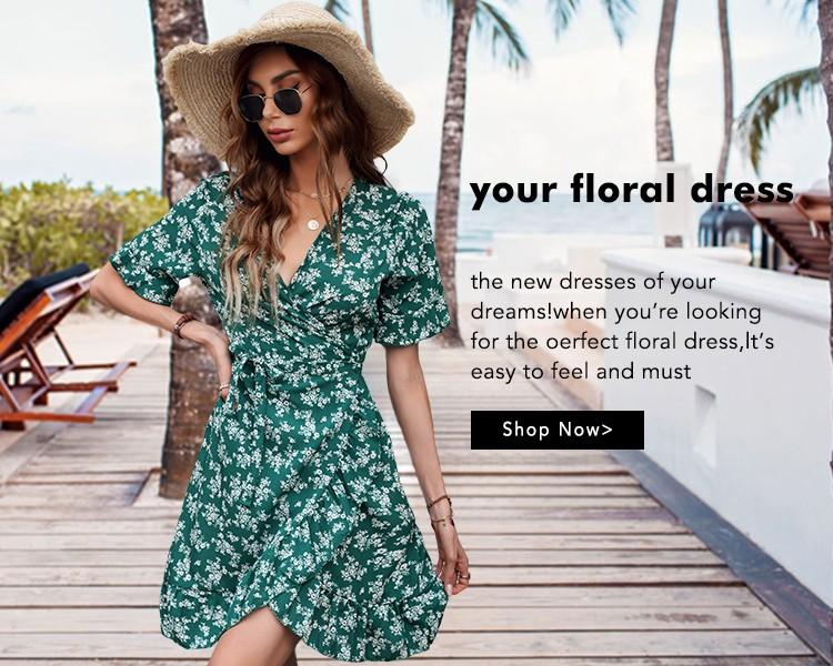 Your floral dress