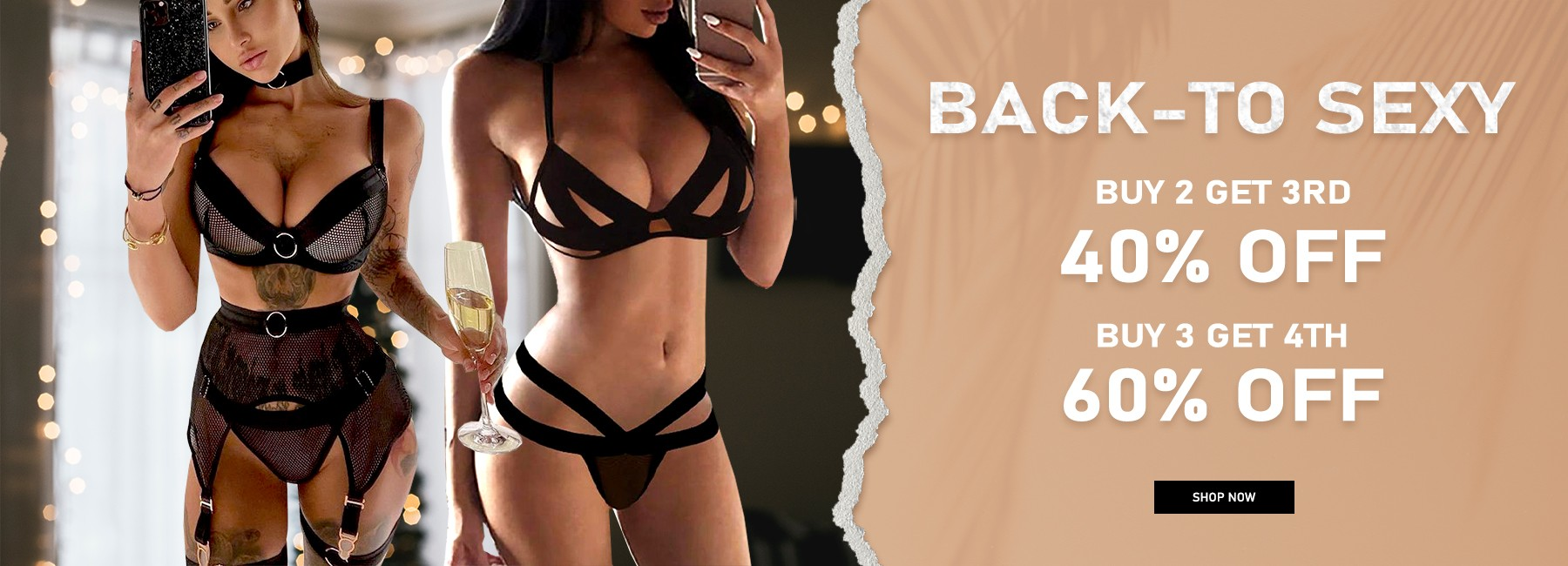 level-up with hot new lingerie