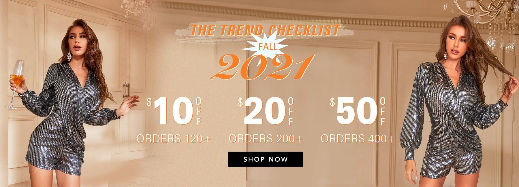 2021 New Fall