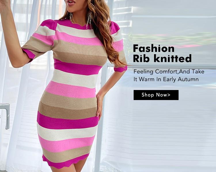 Fashion In Rib-Knit