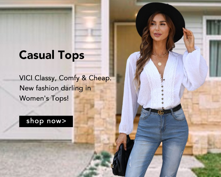Casual Styles Tops
