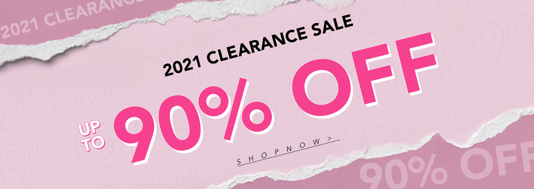#2021 CLEARANCE SALE UP TO 90% OFF SHOP NOW