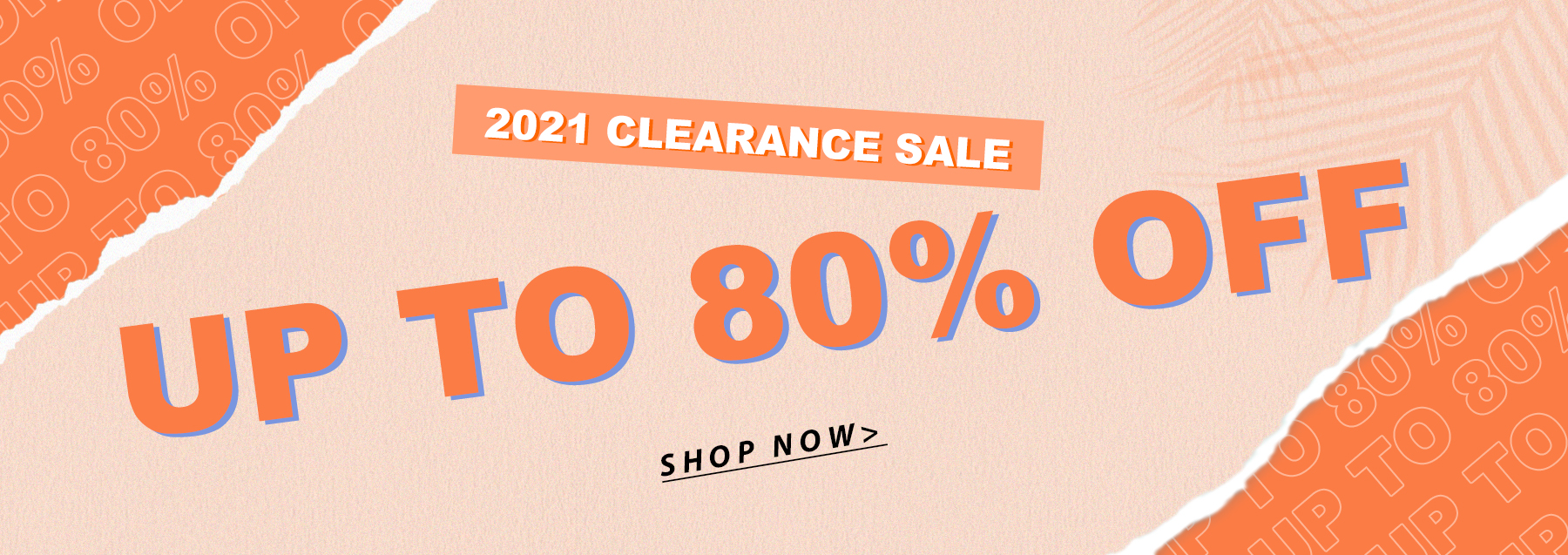 #2021 CLEARANCE SALE UP TO 80% OFF SHOP NOW