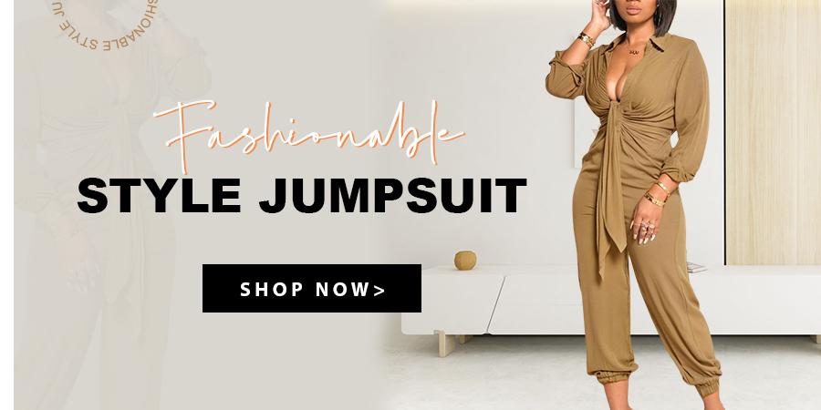 Fashionable Style Jumpsuit