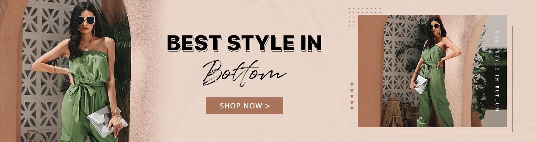 Best Style In Bottom