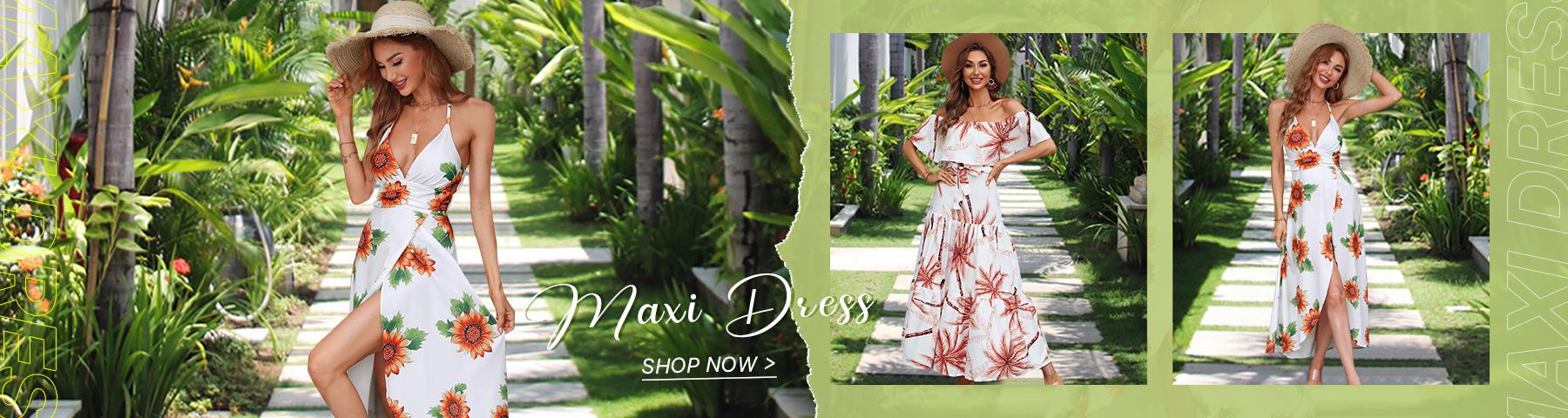 Maxi Dress In Summer