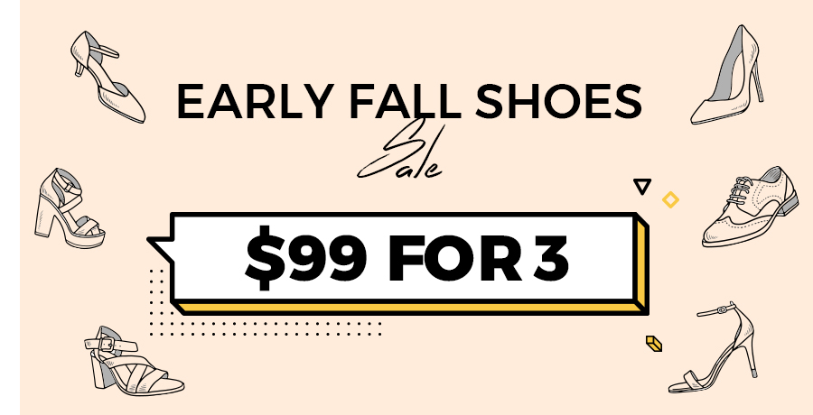 Early fall shoes