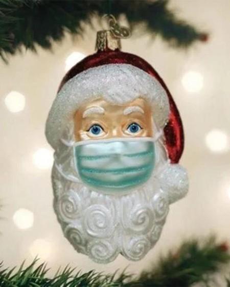 Santa in 2020 Christmas Ornament