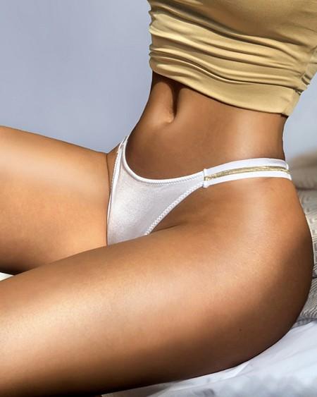 Low Waist Skinny Thong Panty