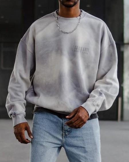 Tie Dye Long Sleeve Loose Sweatshirts T-shirts