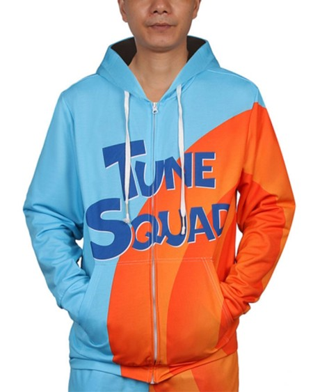 Color Block Splicing Letter Print Long Sleeve Hooded Sweatshirt