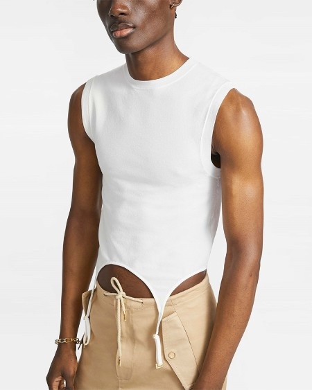 Solid Color Sleeveless Skinny Tank Top