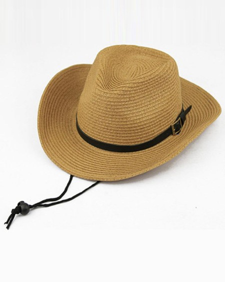 Vintage Style Western Cowboy Straw Hats