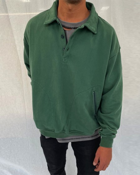 Solid Long Sleeve POLO T-shirts