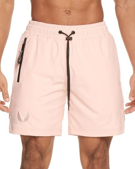 Color Block Drawstring Sport Short Pants