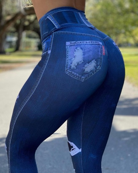 High Waist Seamless Butt Lifting Yoga Pants