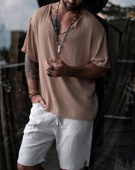Short Sleeve Casual Loose T-shirt