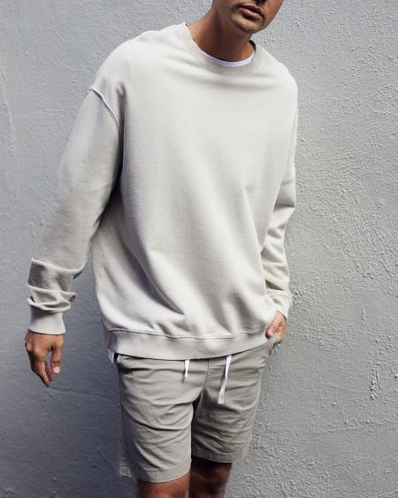 Solid Long Sleeve Loose T-shirts Sweatshirts