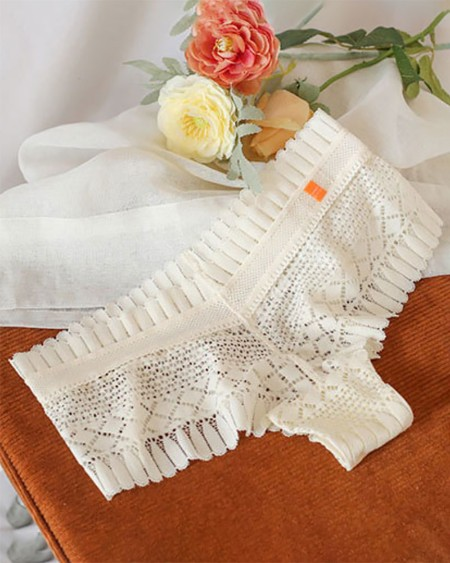 Skinny Hollow Out Crochet Lace Panty