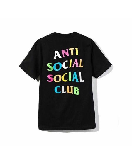 Rainbow Letter Print Short Sleeve T-shirts