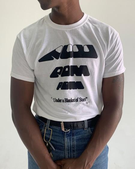 Letter & Cartoon Print Short Sleeve T-shirt