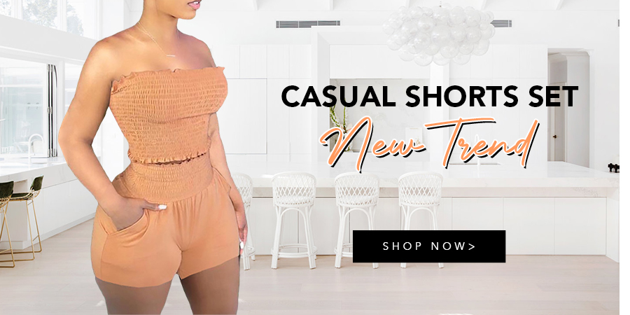Casual Shorts Set