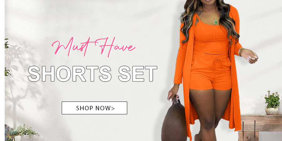 Must Have Shorts Set