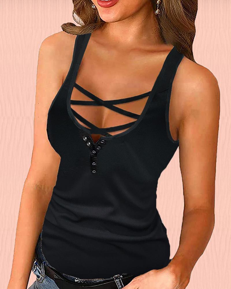 Ivrose coupon: Little Cami Plain Vest