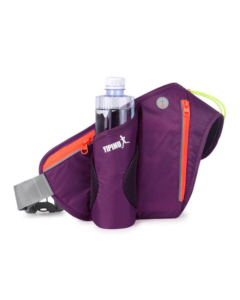 Running Belt Bags Jogging Cycling Waist Pack Sports Runner Bag Water Bottle Holder