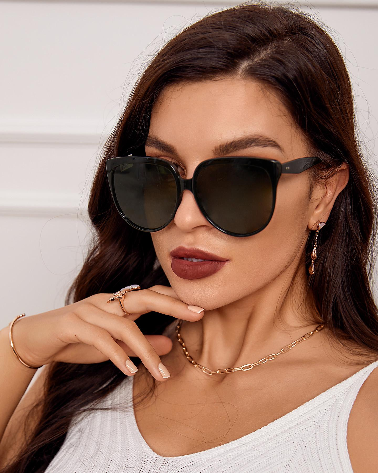 1 Pair Square Frame Plain Sunglasses, boutiquefeel, style1  - buy with discount