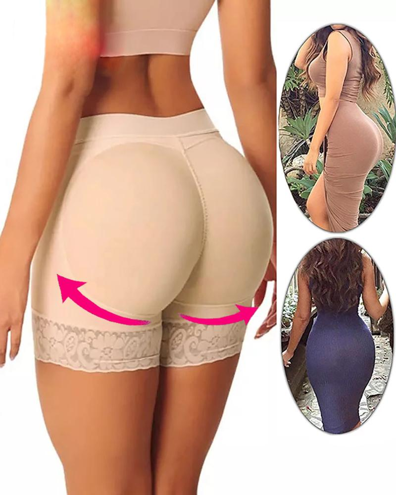 Shaper rembourré Butt Lifter Panty Butt Hip Enhancer Faux Hip Shapwear Sous-vêtements