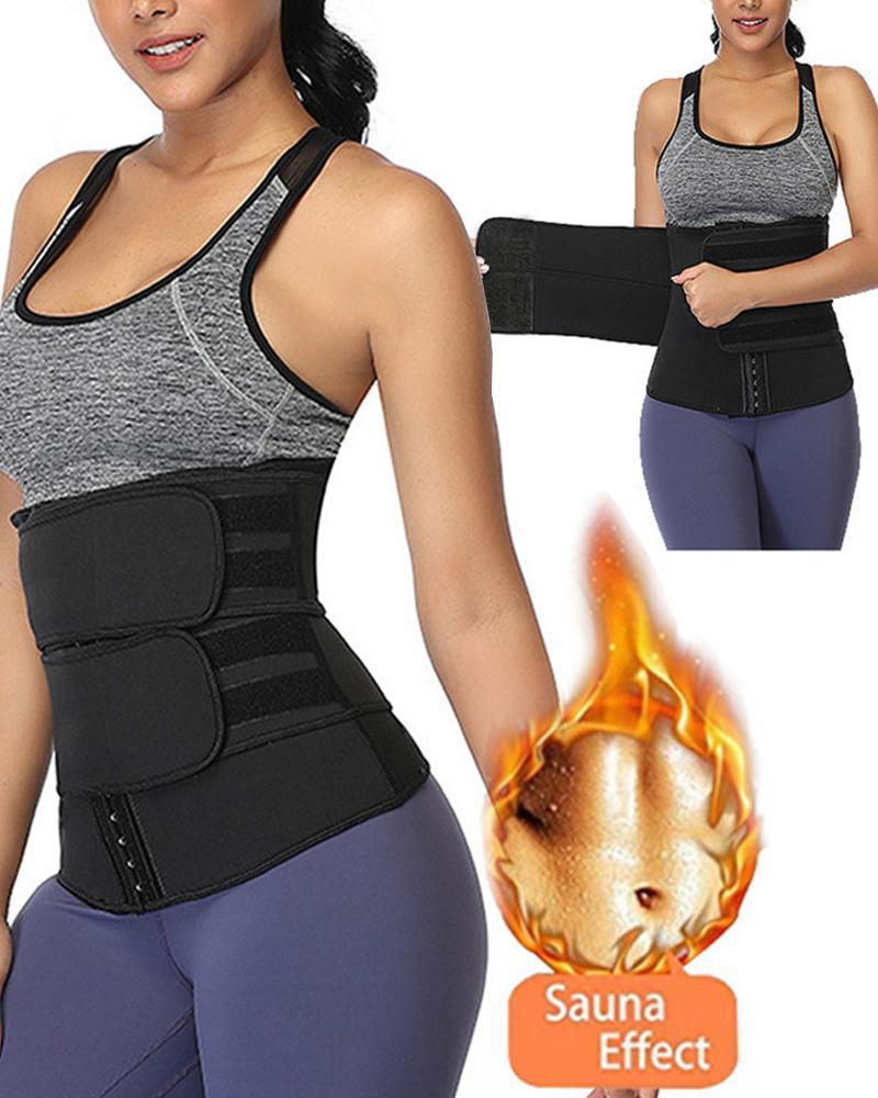 Waist Trainer Thermo Sweat Belt Tummy Body Shaper