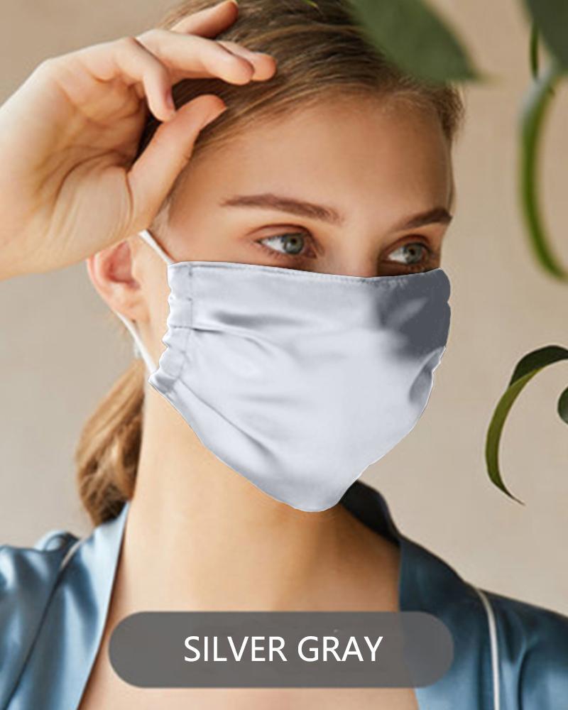 Silk Outdoor Anti- UV Face Cover