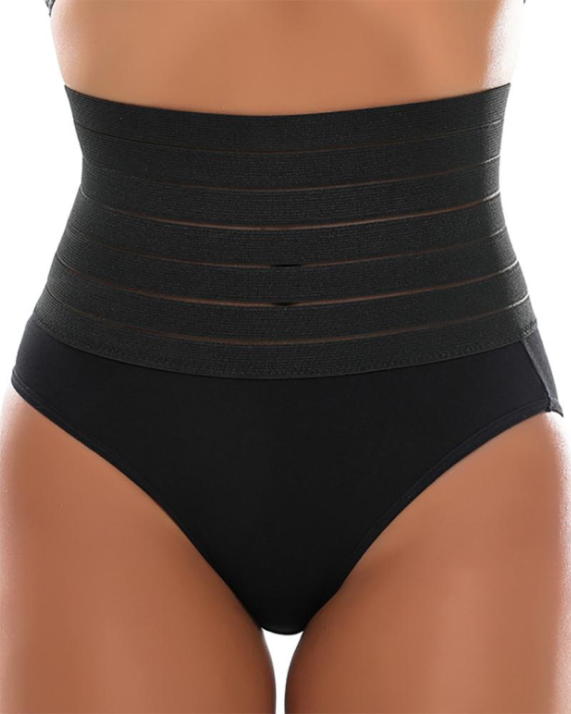 High Waist Shaping Panties Breathable Body Shaper Slim Tummy Control Seamless Shapewear