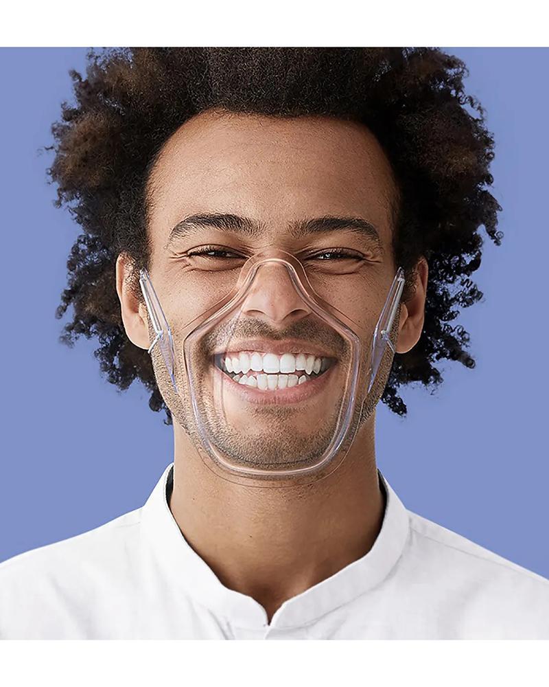 PC Face Shield Transparent Mask