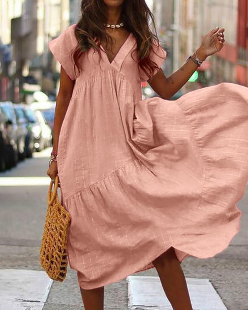 Модные Широкие Платья